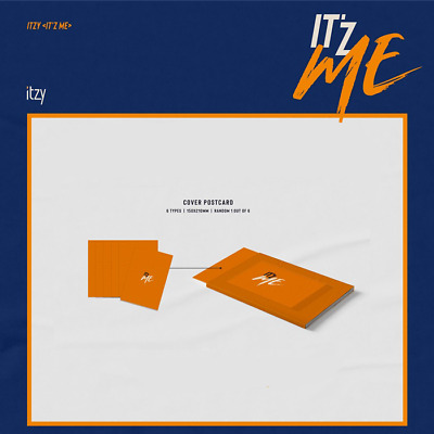 ITZY IT'Z ME IT Z ME 2nd Mini Album [Cover Postcard] Official