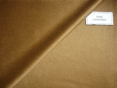 """Loro Piana 100% CASHMERE COATING, JACKETING FABRIC IN """"Vicuna""""MADE IN ITALY-2.5m"""