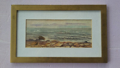 "Listed Canadian Artist - Irene Wahl (1900- ) W/C - 5.6""x13"". Signed"