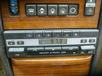 Becker Europa 2000 BE1100 Radio For Mercedes WORKING UNIT