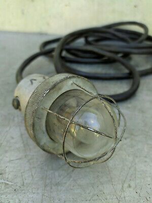Lamp Light Steampunk Handcrafted Industrial