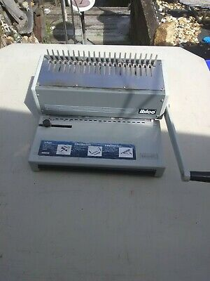 Binding Machine Ibimatic Commercial Comb Punch with combs-Good Condition