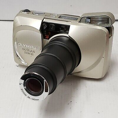 Olympus Infinity Stylus Zoom 140 Lens Point-And-Shoot 35Mm Film Camera B5.12