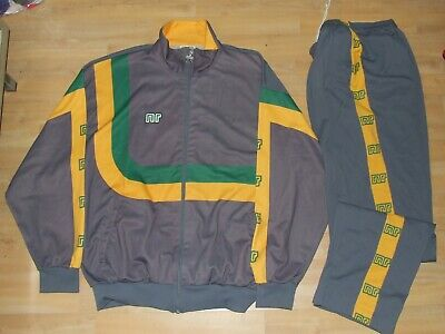 Ennerre nr Jacket Suit Tracksuit Vintage Made in Italy 70'S Size 52