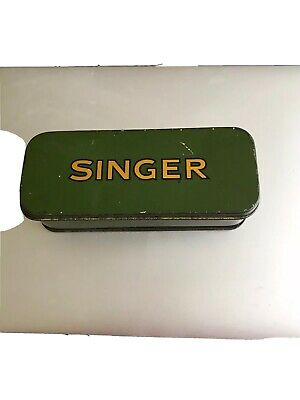 Green Vintage Singer Sewing Machine 1937 It's Empty But In Fantastic Condition
