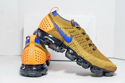 Nike Air Vapormax Flyknit 2 Mens Shoes Mowwabb Brown 942842-203 NIB