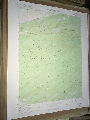 Coburn Pa. Centre County USGS Topographical Geological Survey Quadrangle Old Map