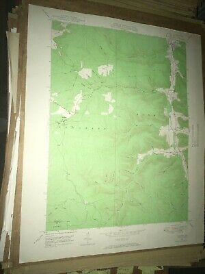 Crosby PA McKean Co USGS Topographical Geological Survey Quadrangle Old Map