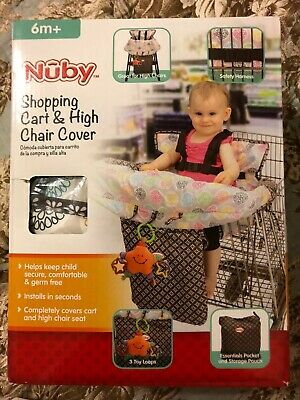 New Nuby 6m + Shopping Cart & High Chair Cover