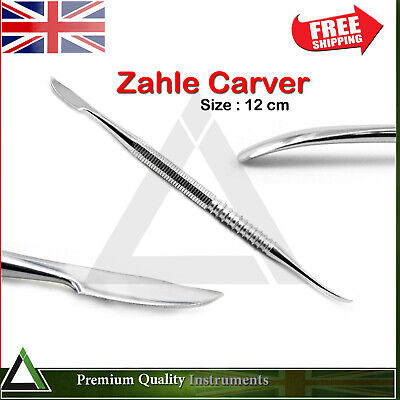 Dentist Zahle Carver Dental Lab Waxing Soap Clay Carving Mixing Sculpting Knife