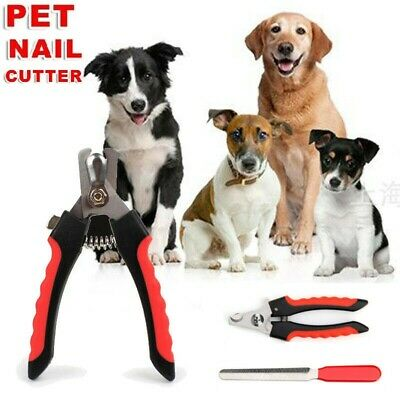 Nail Claw Clippers Pet Dog Cat Puppy Kitten Trimmers Scissors Cutters Toe File