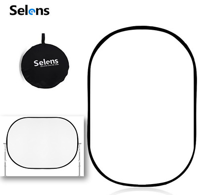 Selens Collapsible Soft Reflector Diffuser Cloth Disc Panel Studio Light White