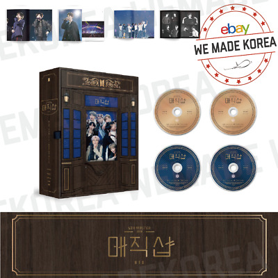 [PRE-ORDER] BTS 5TH MUSTER MAGIC SHOP DVD 4 Disc + Photobook + Photocard + etc