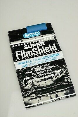 Sima Super Film Shield Double laminated lead pouch for 22-rolls 35mm or120/220