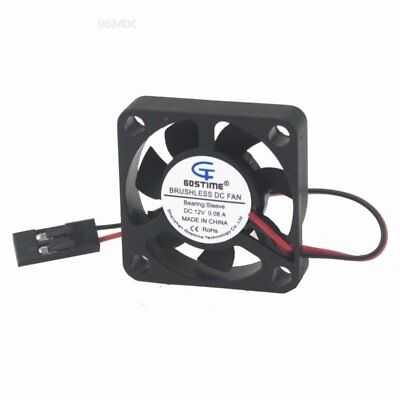 YAKOO DC 12V 2 Pin Brushless 30MM 30x30x10mm 3CM Mini Cooling Fan 15cm Cable PC