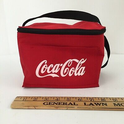COCA COLA INSULATED LUNCH BOX BAG COOLER  Soft sided - FAST SHIPPING