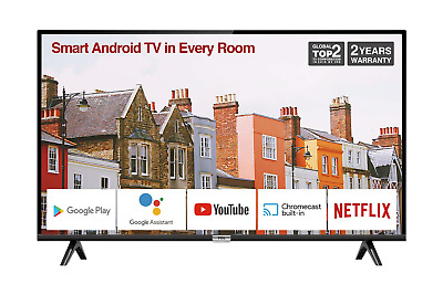 TCL 32ES568 32-Inch Smart Android TV HD, HDR, Micro Dimming, Netflix, YouTube, 2