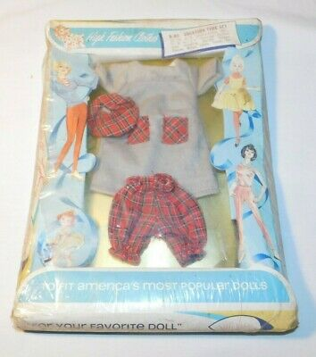 Vintage Shillman Vacation Time Set Barbie Doll Outfit MINT ON THE ORIGINAL CARD