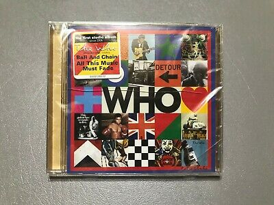 THE WHO BY THE WHO (2019 Sealed) Brand New Music CD