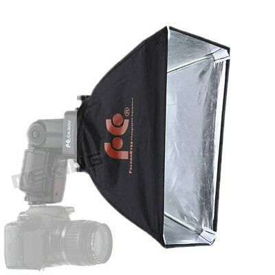 Flash Softbox Sliver With Diffuser Cloth for Speedlite Speedlight K9 Accessory
