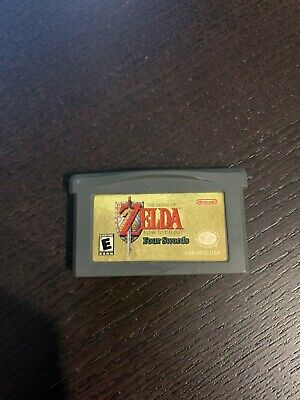 The Legend Of Zelda A Link To The Past Four Swords Gameboy Advance GBA