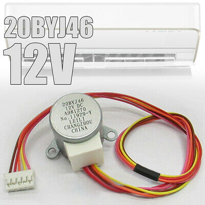 1x 20BYJ46 12VDC Synchronous Stepper Sweeping The Wind Motor for Airconditioner