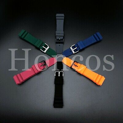 22 MM Black Silicone Rubber Watch Band Strap Fits Rolex Vintage Submariner 2020