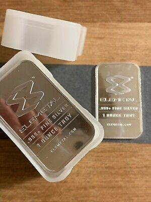 OPM ELEMETAL1oz Silver Bar