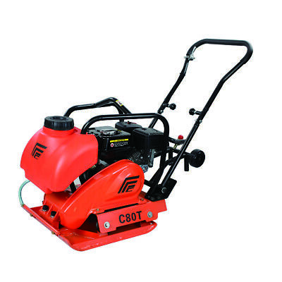 6.5 HP Soil Vibrating Plate Compactor with Water Tank and Loncin G200F