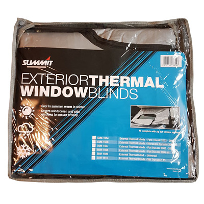 Summit External Thermal Blind For Fiat Ducato 2006> , Front Cab,Camper Van