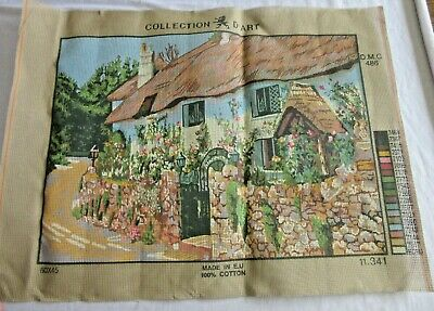 TAPESTRY CANVAS - Printed ready to work- 60 x 45 cm - Made in E.U . 100% Cotton