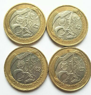 £2 Two Pound Coin Commonwealth Games Northern Ireland Wales England Scotland