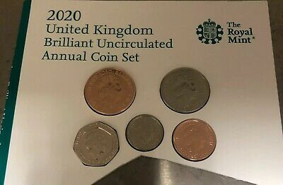 2020 - Royal Shield BU 5 Coin Set - Britannia Shield cut from Annual Set
