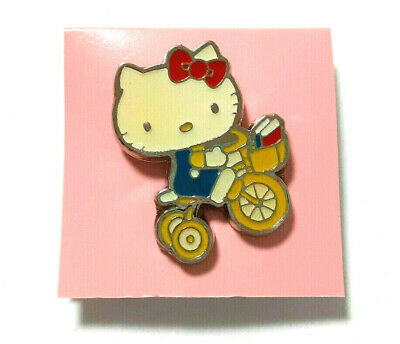 Hello Kitty Airplane 2002 Pin Badge Super Rare SANRIO Old