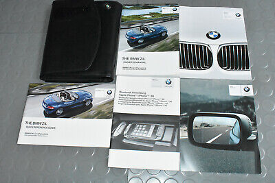 2012 BMW Z4 Owners Manual - Set (Covers Navigation)
