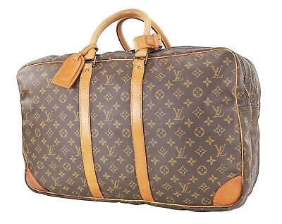 Auth LOUIS VUITTON Sac 3 Poches 55 Monogram Travel Bag Suitcase Luggage #35939