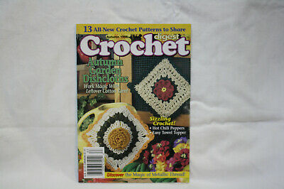 Crochet Digest Summer 1998 ~ 16 crochet patterns