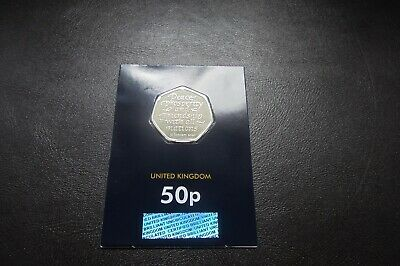 2020 1 x 50p UK BREXIT COIN BUNC CARDED        !!FREE P&P!!                   M2