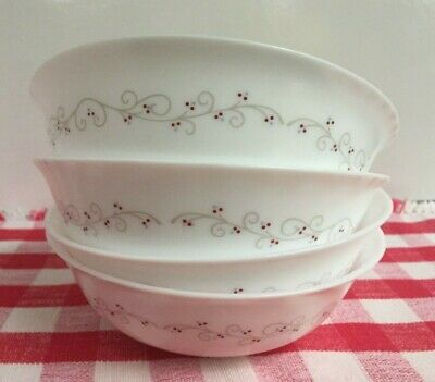Arcopal Sentiments Cereal / Soup Bowl Made in France - Lot of 4
