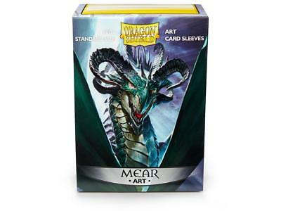Dragon Shield Type Mear 100 Protective Sleeves Cases Standard Card Holder