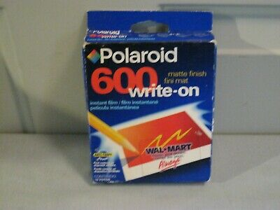 NEW Polaroid 600 Write-On Film Sheets, Matte Finish, 10 Sheets, Expired 08/01