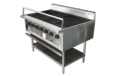 Reef & Beef 7 Burner Chargrill - Natural Gas