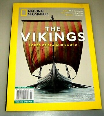 THE VIKINGS lords of the sea & sword NATIONAL GEOGRAPHIC time special