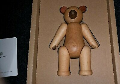 Soopsori Wooden Articulated Bear-Nib -Handcrafted Eco Friendly Forest Wood