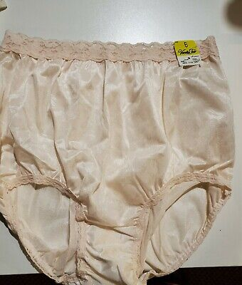 Vintage Vanity Fair  Panties  Nylon Mushroom High Waisted Gusset Panties
