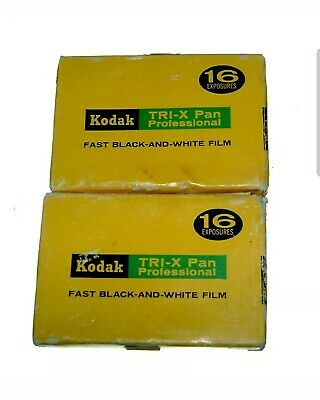 Expired film Kodak TRI-X Pan 520 pack 16 Exp Rare vintage film. Collectible.