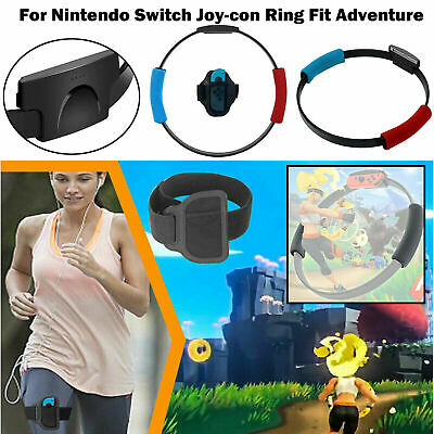 Fitness Ring with Adjustable Leg Strap for Ring Fit Adventure Nintendo Switch ❤