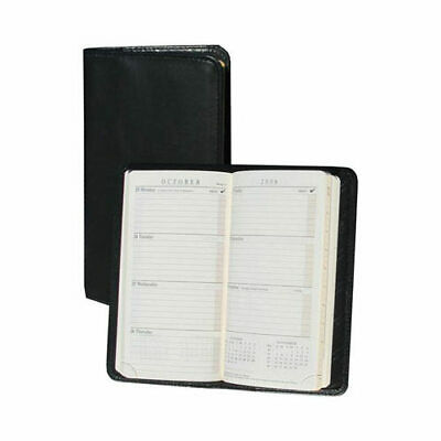 Scully Unisex  Pocket Weekly Planner Soft Plonge 1008 Black Size OSFA