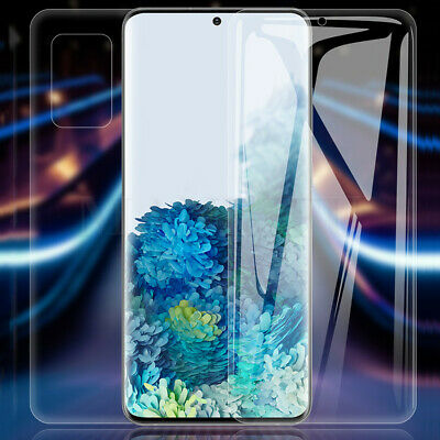 For Samsung S20 Ultra Plus A51 A71 S10 Lite Hydrogel Full Film Screen Protector