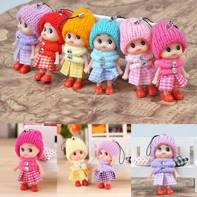 5Pcs Kids Toys Soft Interactive Baby Dolls Toy Mini Doll For Girls and Boys Gift